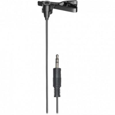 Audio-Technica ATR3350xiS Omnidirectional Condenser Clip-On Microphone for Smartphones