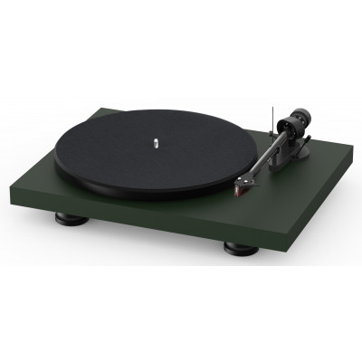 Pro-Ject Debut Carbon EVO 2M-Red Satin Green