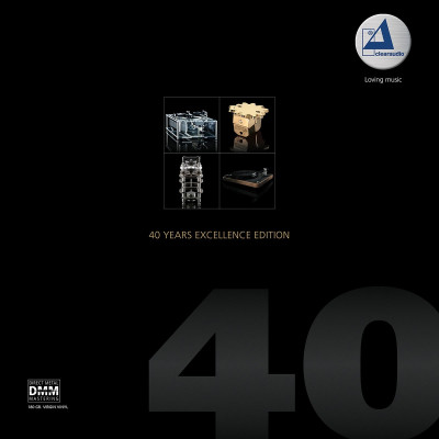 Виниловый диск 2LP Clearaudio - 40 Years Excellence Edition