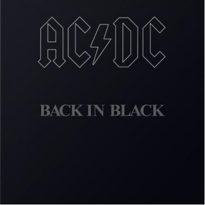 Виниловый диск LP Ac/Dc: Back In Black (180g)