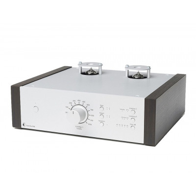 Pro-Ject Tube Box DS2 Silver EUcalyptus