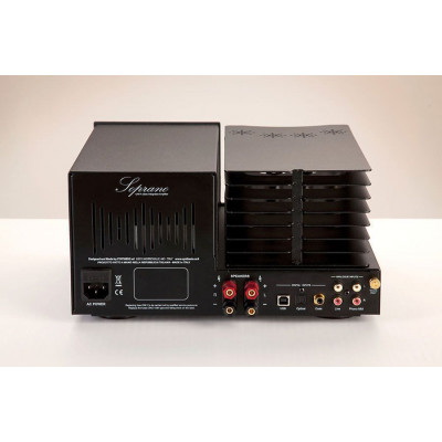 Synthesis SOPRANO lntegrated stereo tube amplifier Black