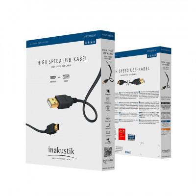 Inakustik Premium USB A > B 1,0m