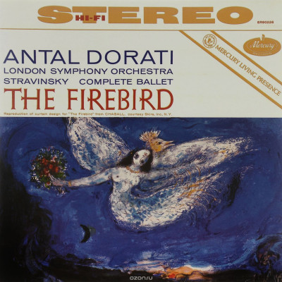 Виниловый диск LP Stravinsky - The Firebird Suite