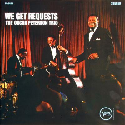 Виниловый диск LP We get request - Oscar Peterson Trio