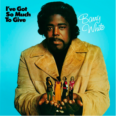 Виниловый диск Barry White: I've Got So Much To Give
